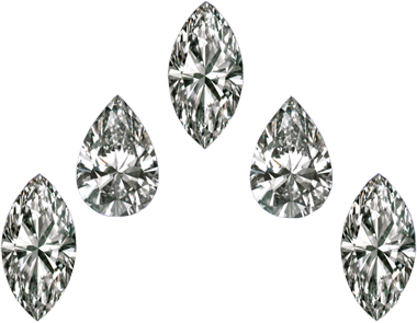 Marquise & Pear Shape Loose Diamond