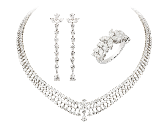 Marquise & Pear Shape Diamond Jewellery