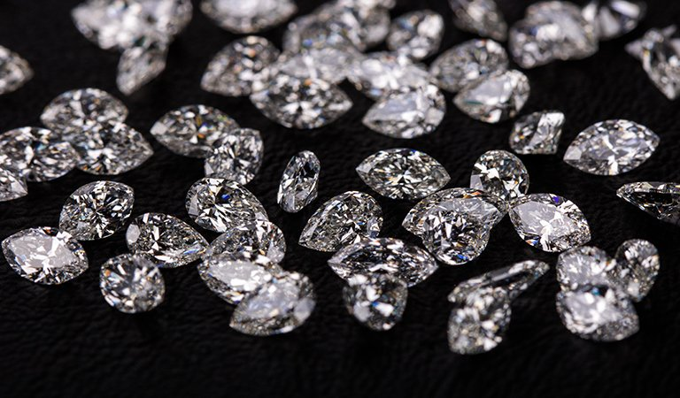 Marquise & Pear Shape Loose Diamond